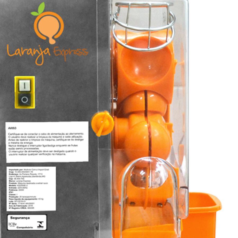 308a842fe Laranja Express A máquina de laranja mais econômica do mercado.